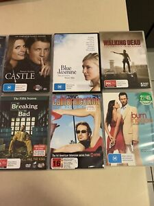 DVDs x 12 includes mostly tv series