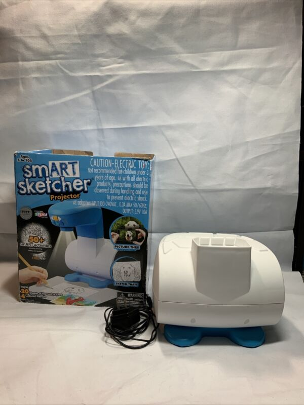 smART Sketcher Projector Learn to Draw, Blue/White For Parts K1