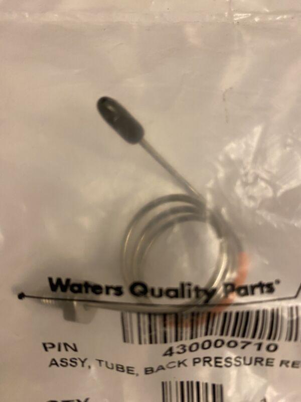 Waters ASSY, Tube Back Pressure Regulator 43000710