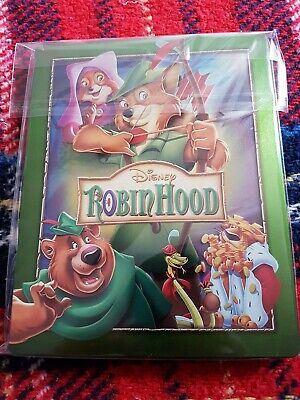 Disney's Robin Hood, Zavvi Exclusive Steelbook, Bluray, Opened But Perfect...