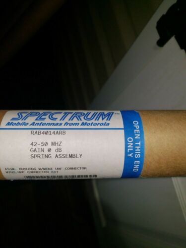 Spectrum Low Band Mobile Antenna 42-50 mhz