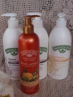 5 NATURES GATE MOISTURISING LOTION 18OZ  ASSORTED 5 FOR $40. NEW Loganholme Logan Area Preview