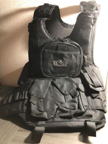 Gen X Global Deluxe Tactical Paintball Vest - Black