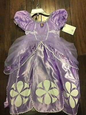 The Disney Store Sophia The First Princess Dress Costume NWT Size5/6](Princess Sophia Costumes)
