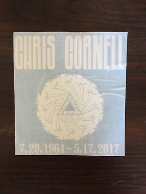 Chris Cornell - RIP Decal