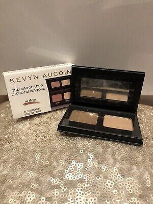 BRAND NEW KEVYN AUCOIN The Contour Palette Duo 2 x 2.5g - Sculpt and Highlight