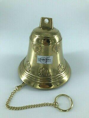 Messing Poliert Kette (Bell Campanella Messing Poliert mit Kette Zum Aufhängen Verschiedene Verwendet)