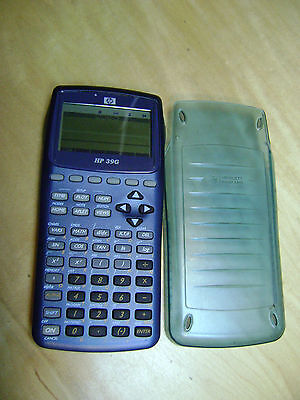 HP 39G Graphing Engineering Calculator with Cover Tested - Works Great