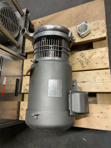 FLowserve Sanitary Pump coupled with 7.5 HP Sterling Motor (Safety Cage)
