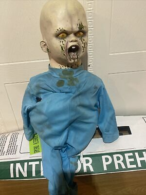 Spirit Halloween Bouncy Zombie Baby (2014) !No Box Used! (Read Desc) !Missing!