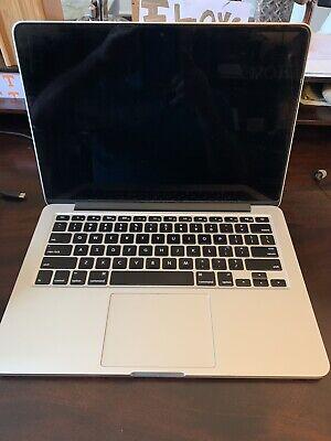 "Apple MacBook Pro A1502 13.3"" Laptop - Screen Not Working - NO RESERVE"