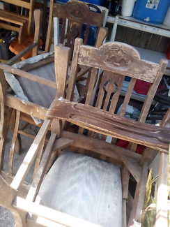 4 Antique chairs