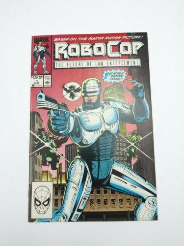 Robocop #1 Marvel 1990 NM High Grade