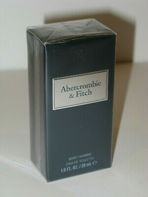 Abercrombie & Fitch First Instinct Blue Eau de Toilette. 1.0 fl. oz. / 30 ml.