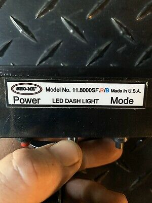 Able 2 Sho-me 11.8000sf Led Light Rb W Mountsnot Whelen Or Code 3