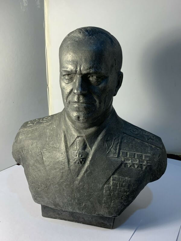 MARSHAL GEORGE ZHUKOV BUST (1976)