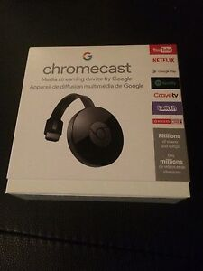 Google Chromecast 2 Digital HDMI Media Video Streamer 2015 2nd G