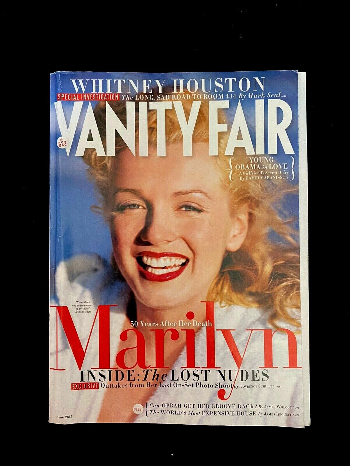 VANITY FAIR MAGAZINE WITH MARILYN MONROE ON COVER. June 2012 GC - $6.99