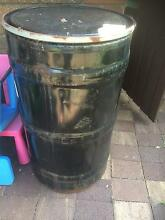 200L Metal Round Drum - Empty Hornsby Hornsby Area Preview