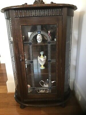 Antique Crystal Cabinet