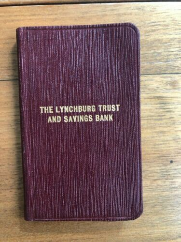 The Lynchburg (Virginia) Trust and Savings Bank Appointment Book, 1935