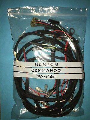 Norton Commando Main Wiring Harness Loom fits 1970 to 1974 models
