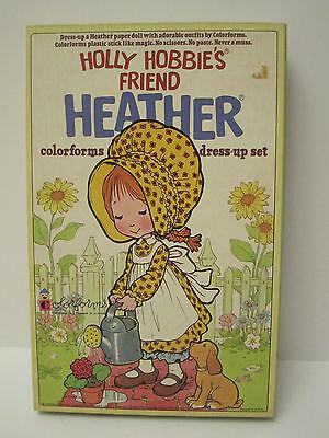 Vintage #604 Heather Hobbie COLORFORMS Dress-Up Set COMPLETE w/box+bklt