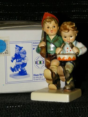 "HUMMEL FIGURINE #50/2/0 ""Volunteers"" TMK 7 MIB"