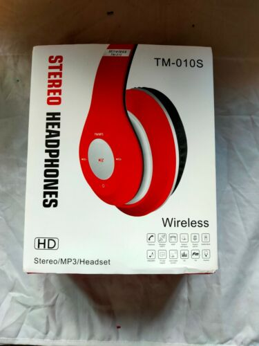 TM-010S+Bluetooth+Stereo+Headphones+%28Red%29