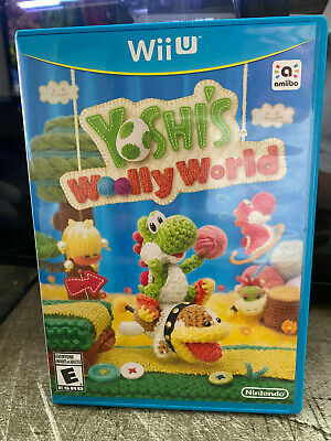 Yoshi's Woolly World Nintendo Wii U Complete Mint Disc Authentic