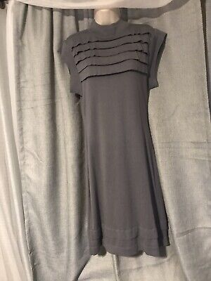 Banana Republic Sweater Dress Medium M Grey Sleeveless NWOT