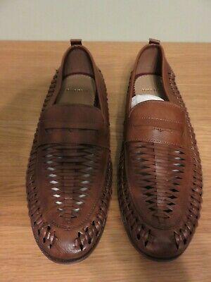 BURTON Maguire Shoes - Tan - Size UK 9, EUR 43 - NEW BARGAIN