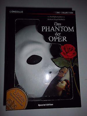 Collection Special Edition, 3 DVD`s 2005,mit Maske, wie neu (Maske Der Oper)