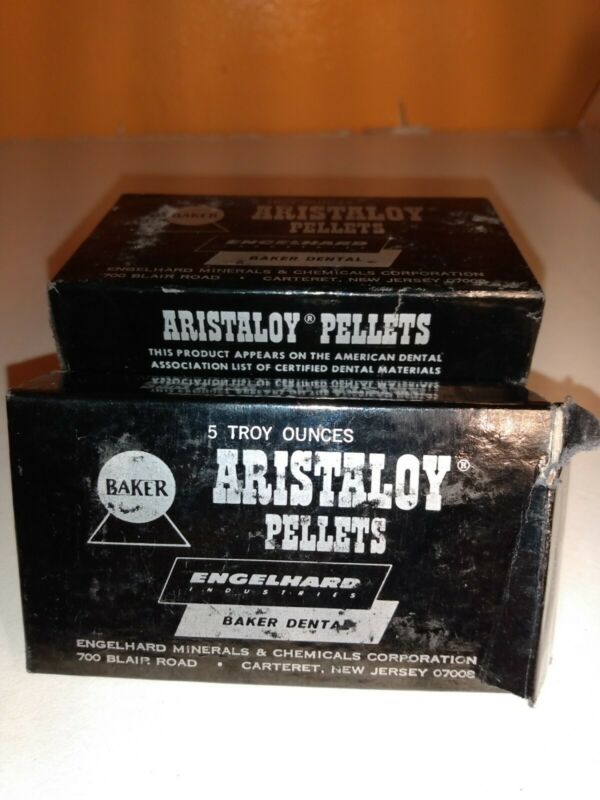 Englehard Aristaloy Pellets Baker Dental