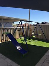 Orangutan Hills Swing Set with Adda Slide - Like New!! Currambine Joondalup Area Preview