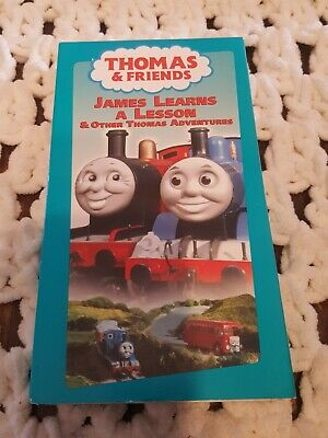 Thomas & Friends VHS Tape James Learns A Lesson & Other Thomas Adventures
