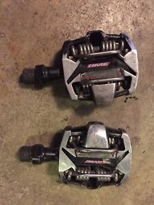 Time Atac Alium clipless pedals for MTB