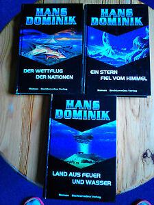 Hans Dominik - 3 Bücher zusammen  NEU!!!