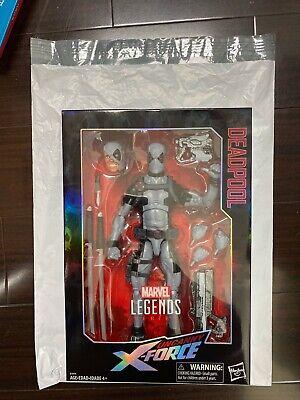 "FEB198197: Marvel Legends Uncanny X Force Deadpool 12"" Action Figure (Polybag)"