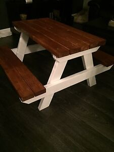 Solid Premium Toddler and adult picnic tables