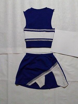 Cheerleader Uniforms Halloween (Blue Gladiator Cheerleader Uniform Halloween Costume Football Game Top)