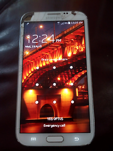 "Samsung galaxy note 2 ""white"" Rothwell Redcliffe Area Preview"