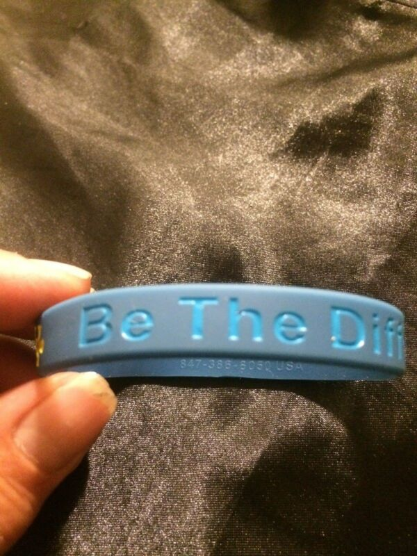 "AUTISM AWARENESS ""BE THE DIFFERENCE"" BRACELET"