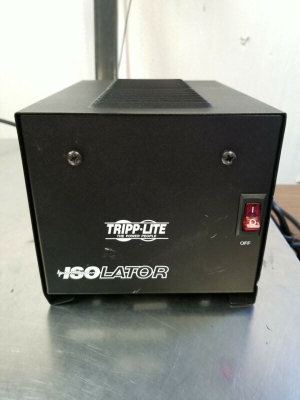 Tripp Lite IS500 Isolation Transformer 500W Surge 120V 4 Outlet 6 feet Cord TAA