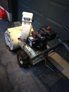 """Snow blower 22"""" two stage with electric start"""