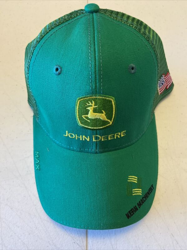 JOHN DEERE HAT- Kern machinery - New Condition Mesh Strap Back