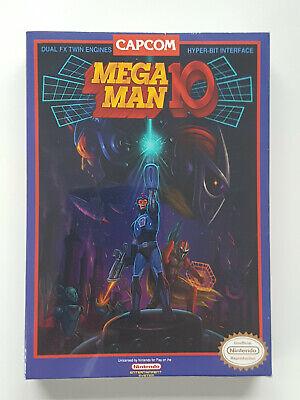 NES MEGA MAN 10 Press Kit (FACTORY SEALED) - very rare