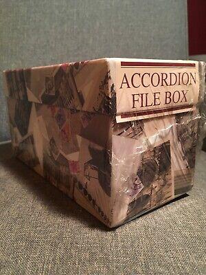 10 X 4.5 Accordion File Box