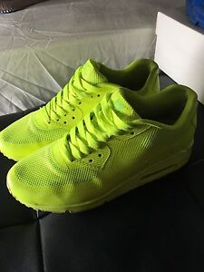 Nike air max hyperfuse electric yellow! Uk 6 Arncliffe Rockdale Area Preview