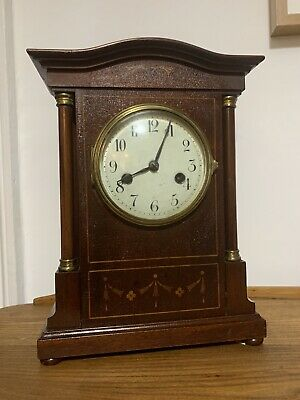 Superb Antique 19th C HAC Hamburg American Clock German Striking Bracket Clock